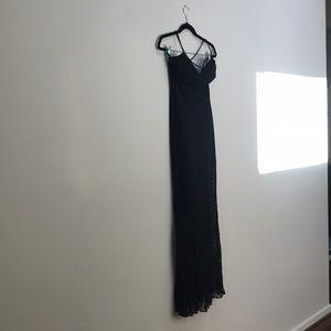 Caché dress. Crepe Social Dress w/Beaded Detail